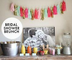 Pink and Gold Bridal Shower Brunch Bridal Shower Planning, My Bridal Shower, Gold Bridal Showers, Party Planning, Wedding Planning, Fall Wedding, Dream Wedding, Wedding Ideas, Future Mrs