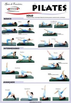 Pilates Workout Sheet …