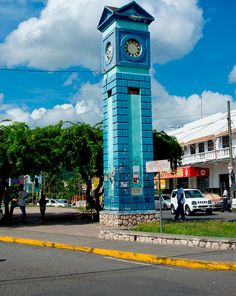 Clock at the Ocho Rios town centre, Jamaica. Caribbean Sea, Pirates Of The Caribbean, Best Hotel Deals, Best Hotels, Kingston, Jamaica Cruise, Jamaica Jamaica, Commonwealth, Greater Antilles