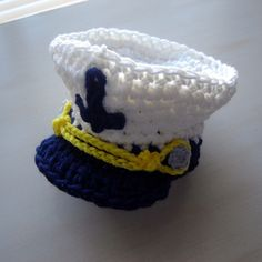 Sea Captain Crochet Hat | Backdrop Express