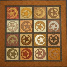 Prairie Moons and Stars Quilt Pattern by Shelly Pagliai at Prairie Moon Quilts