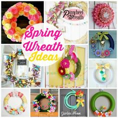 Spring Wreath Ideas Linda Bauwin CARD-iologist Helping you create cards from the heart