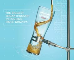 This Agency Says It Just Invented the World's Perfect Beer Glass | Adweek