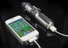 Use Darth Vader's Lightsaber To Charge Your Gadgets