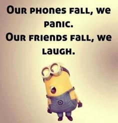 Top 21 Funny Quotes Whatsapp – Hilarious Memes And Super Humor In Life – Minions quotes Minion Humour, Funny Minion Memes, Minions Quotes, Funny Jokes, Despicable Me Quotes, Minion Sayings, Hilarious Sayings, Infp, Funny Picture Quotes