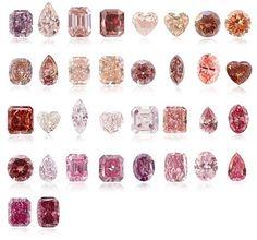 Les diamants roses sont les diamants les plus rares de tous les diamants de…