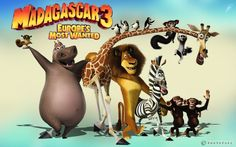 Wallpaper Europes Most Wanted Movie With Madagascar Hd For