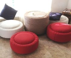 tire to ottoman and table Living - How to Make Instructables - Offset 168