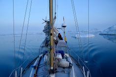 Ilulussat, Disko Bay, Greenland , Arctic sailing