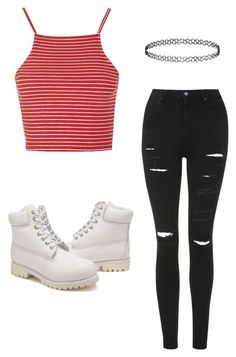 """Outfit for my Friend @hishirel"" by maliamcbride ❤ liked on Polyvore featuring Topshop and Timberland"