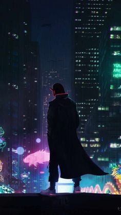 Cyber City Devil - IPhone Wallpapers