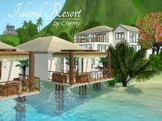 Caribbean Island Resort by chemy - Sims 3 Downloads CC Caboodle