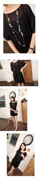 Đặt hàng Dây chuyền đôi ngọc trai nữ dài thời trang chất lượng cao