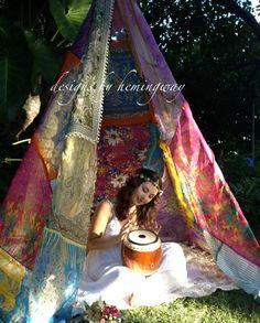Boho wedding Teepee