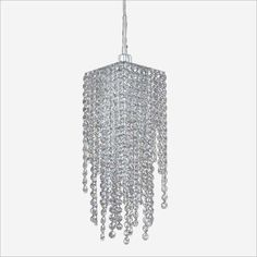 Filament Design Veranda 1-Light Silver Pearl Halogen Pendant