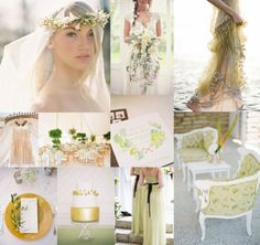 Goldenrod Avocado Wedding Colors | EAD