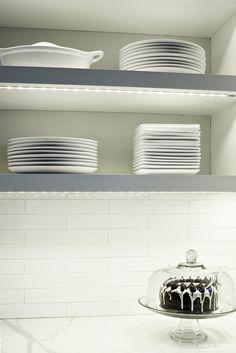 Under shelf lighting...Heidi Piron Design and Cabinetry - Transitional - 44