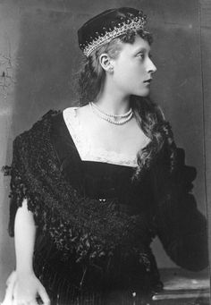 Princess Victoria of Hesse and by Rhine, later Victoria Mountbatten, Marchioness of Milford Haven (Victoria Alberta Elisabeth Mathilde Marie; 5 April 1863 – 24 September 1950) was the eldest daughter of Louis IV, Grand Duke of Hesse and by Rhine (1837–1892), and his first wife Princess Alice of the United Kingdom (1843–1878), daughter of Queen Victoria and Prince Albert of Saxe-Coburg and Gotha.