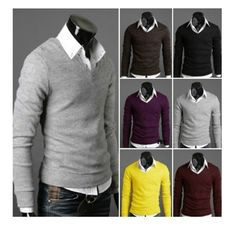 Mens Casual Cardigan