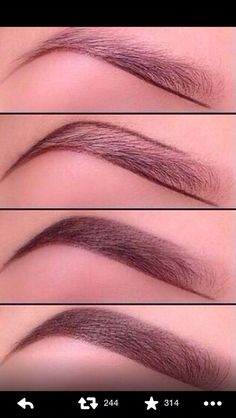 Brows down with Younique liner. Www.youniqueproducts.com/Tammys8