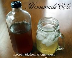 Home made pop syrups.  The link takes you to a cola recipe, but there are several others in the comments.  :D