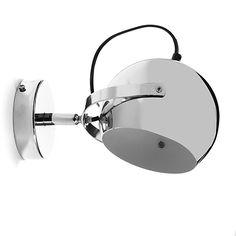 Bling - Appliques-Luminaires Applique murale en métal chromé D25cm