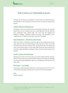 Designing modern web email