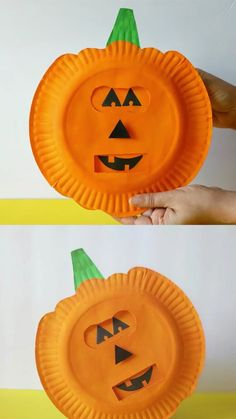 Find out how to make this pumpkin emotions craft to teach kids about feelings. A fun learning Halloween craft and activity great for preschoolers. crafts for kids Pumpkin Emotions Craft Halloween Arts And Crafts, Halloween Crafts For Toddlers, Thanksgiving Crafts For Kids, Toddler Crafts, Diy Halloween, Halloween Decorations, Halloween Kid Activities, Learning Activities, Preschool Crafts