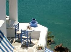 Greece: Anafi, an ebony sculpture in the Aegean Sea Beautiful Islands, Beautiful Places, Beautiful Gorgeous, Greece People, Greek Garden, Greek Blue, Outdoor Furniture Sets, Outdoor Decor, Greek Islands