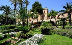 Villa Igiea, giardini.