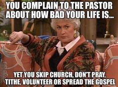 PENTECOSTAL church humor.