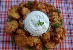 Sajtos-fűszeres csirkemelles tócsni Izu, Cauliflower, Vegetables, Ethnic Recipes, Food, Cauliflowers, Essen, Vegetable Recipes, Meals
