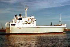 MV Straitsman - When Hobart Registered. Ship Tracker, Merchant Navy, New Zealand, Ships, Boats, Boating, Ship
