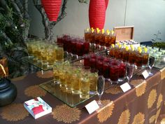Rows and rows of our refreshing green teas, vitamin-rich fruit tisanes and classic Southern sweet iced teas.