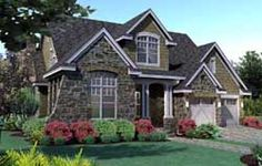 European Style House Plans - 3766 Square Foot Home , 1 Story, 4 Bedroom and 4 Bath, 3 Garage Stalls by Monster House Plans - Plan 12-1207