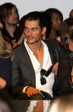 david gandy | ... this photo david gandy model david gandy watches models walk down the