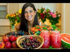 """""""Eat enough today for tomorrow."""", words of Kristina Bucaram in this great video showing what she is eating this summer! Love it! :)"""