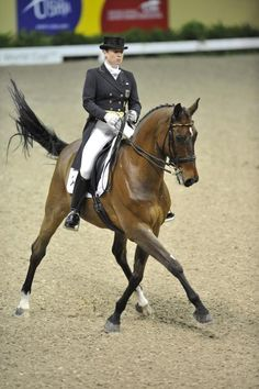 Dressage - Isabell Werth on Satchmo More