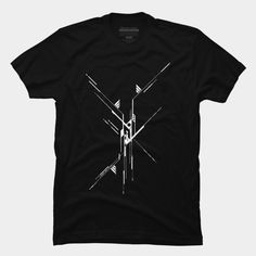 Alchemy Robot Geometric Lines Tees and tshirt.