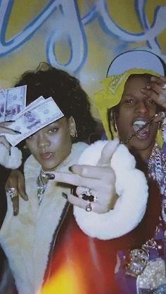 Rapper Wallpaper Iphone, Rap Wallpaper, Asap Rocky Wallpaper, Cyberpunk, Lord Pretty Flacko, Mode Rihanna, Images Esthétiques, Photo Wall Collage, Bad Girl Aesthetic