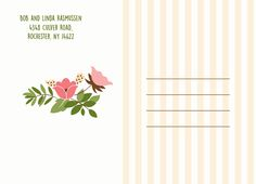 Send a #thankyou postcard to your family and friends! CatPrint Design #148