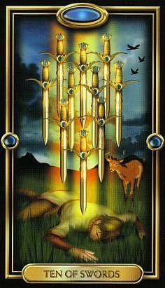 Đọc Lá Ten of Swords - Gilded Tarot bài tarot Tarot Card Decks, Tarot Cards, The Sun Tarot Card, Divine Tarot, Custom Decks, Tarot Card Meanings, Oracle Cards, Deck Of Cards, Magick