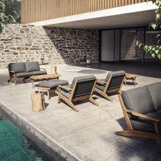 Bay 2-Sitzer Sofa für eine elegante & wetterfeste Loungeecke im Wohnzimmer oder auf der Terasse. https://www.ikarus.de/bay-2-sitzer-sofa.html