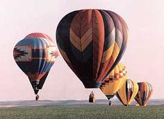 "Three days of fun in May-Balloon Stampede ""Fly Me to the Moon"""
