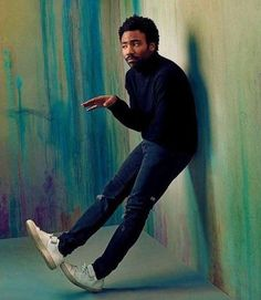 """Donald Glover photographed by Austin Hargrave for The Hollywood Reporter "" Donald Glover, Donald Duck, Childish Gambino, Beautiful Men, Beautiful People, Foto Art, Thing 1, How To Pose, Editorial Photography"