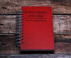 blank book journal Something Special book by ExLibrisJournals