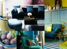 PANTONE VIEW home + interiors 2016 Dichotomy: Opposites do and can attract as silver metallic, sunny yellow and bright cobalt blue combine with calmer versions of the hues.