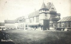 Rear of Staincliffe House 1908