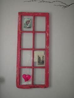 upcycled window