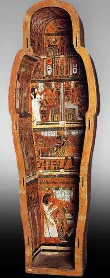 Coffin of Djedhoriufankh- Egypt, after the New Kingdom.